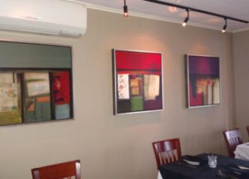 MainStreet Galleries' work in Cork Bar and Restaurant, Wilkes-Barre, Pennsylvania
