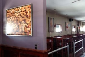 Our work in Cork Restaurant, Wilkes-Barre, PA