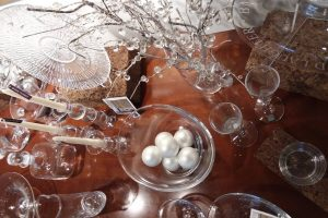 Simon Pearce glass collection