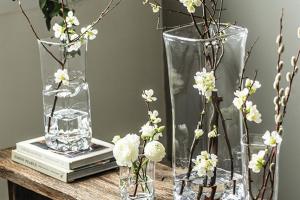 Simon Pearce Woodbury Collection vases