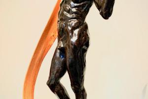 Elizabeth Jenkins Culp Mr. Everything sculpture
