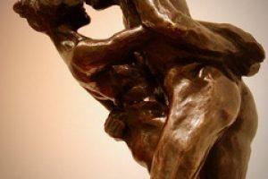Elizabeth Jenkins Culp Sway sculpture, 8x9x22