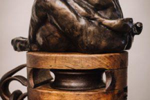 Elizabeth Jenkins Culp Unity sculpture, 14x5x11