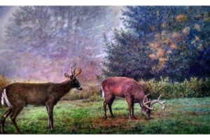 Frank Wengen Knowing One's Place watercolor