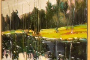 Earl Lehman oil on canvas, 40x30