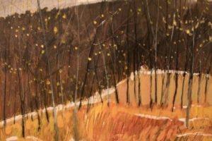 Earl Lehman Autumn oil on canvas, 16.5x16.5