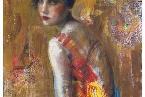 Charles Dwyer Circus Rider limited edition giclee print, 34x26