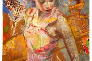 Charles Dwyer Cirque limited edition giclee print, 42x32