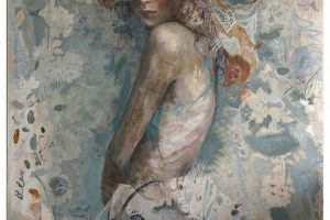 Charles Dwyer Elise limited edition giclee print, 36x28