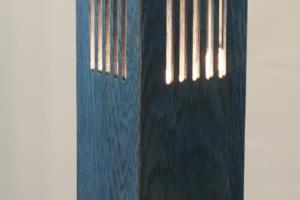 Mike Scribner wood split lamp