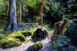 Vyacheslav Shevchenko Magic Forest oil on canvas, 50x60